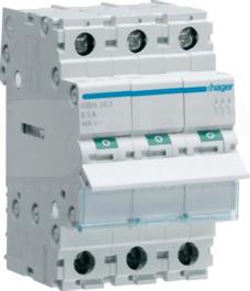 SBN363 63A 3P 400V Rozłącznik modułowy