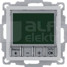 B.1/B.3/B.7 GLAS aluminium Regulator temp.ze ster.czasowym