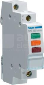 SVN129 230VAC czer/ziel/pom Lampka sygnalizacyjna 3-faz.