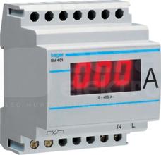 SM401 0-400A pośredni Amperomierz cyfrowy