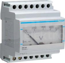 SM500 0-500V bezpośr. Woltomierz analogowy