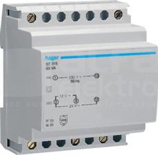 ST315 230/12-24V 63VA Transformator bezpieczeństwa