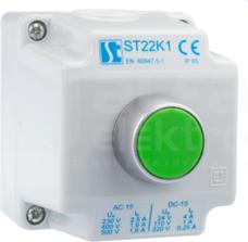 ST22K1/01-1 przycisk Kz Kaseta sterow.1xST22 start
