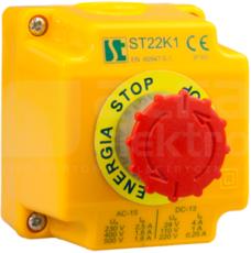 ST22K1/05-1 przycisk B Kaseta sterow.1xST22 stop