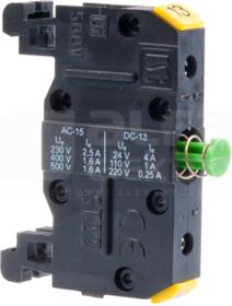 ST22 10-1-sz NO 13-14 Łącznik szynowy przycisków