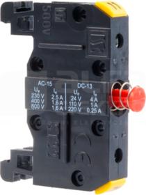 ST22 01-1-sz NZ 11-12 Łącznik szynowy przycisków