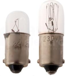 Ba9S 230V 2W Żarówka sygnalizacyjna