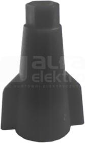 ZSE 1-1,0/6,0 typ 814 czarny Złączka skrętna