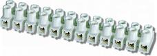 LTA 12-2,5 typ 210 Złączka gwint.termopl.biały