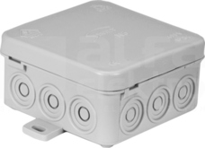 N5 FASTBOX 75x38x75mm IP54 szary Puszka natynkowa
