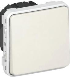 PLEXO55 IP55 biały Mechanizm przycisku jednobiegunowy