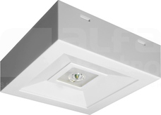 LOVATO N ECO LED 3W OTW.1h SE biały Oprawa awaryjna 1-zad.