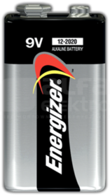 ALKALINE POWER 9V 522 Bateria