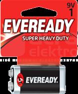 EVEREADY SUPER HEAVY DUTY 9V 6F22 Bateria