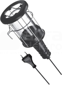 GUMMI 100W E27 IP20 Oprawa żarówkowa mobilna