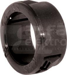 HV12 czarny (100szt) Przepust kablowy