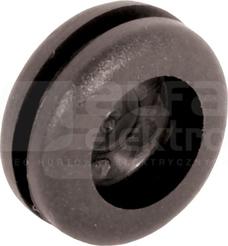PP16 czarny (100szt) Przepust kablowy z przegr.