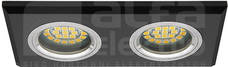 MORTA CT-DSL250-B 2x50W Gx5,3 czarny Oprawa sufitowa