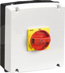 GAZ2 pokrętło żółto/czerwony Obudowa