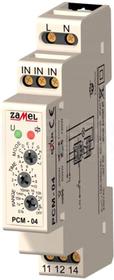PCM-04 230VAC Przekaźnik czasowy