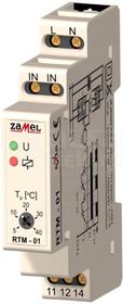 RTM-01 5-40C 230VAC Regulator temperatury