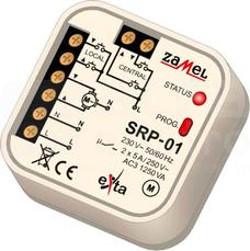 SRP-01 230VAC Sterownik rolet dopuszkowy przewodowy