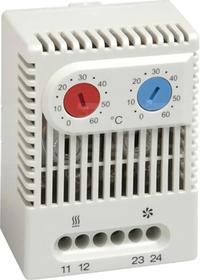 ZR 011 1NC+1NO 0...+60st.C Termostat ogrzew/chłodz