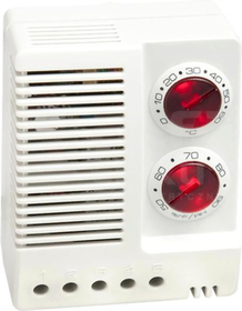 ETF 012 100-240VAC 0-60st.C 50-90%RH Higroterma elektroniczna