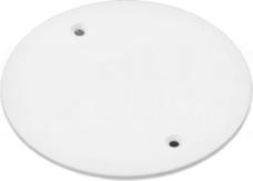 PO-60 biały Pokrywa puszki z otworami