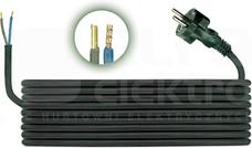 H05RR-F 2x1,0 (3,0m) Przewód przyłączeniowy gumow