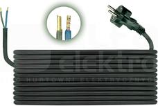 H05RR-F 2x1,0 (5,0m) Przewód przyłączeniowy gumow