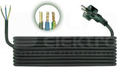 H05RR-F 3x1,0 (3,0m) Przewód przyłączeniowy gumow
