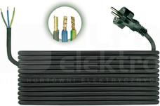 H05RR-F 3x1,5 (5,0m) Przewód przyłączeniowy gumow