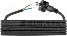 H05RR-F 2x1,5 (3,0m) Przewód przyłączeniowy gumow