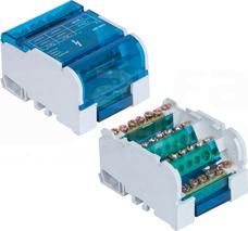 BLOK 4x7 100A Blok rozdzielczy