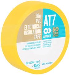 AT-7 19x0,13 20m żółty Taśma izolacyjna