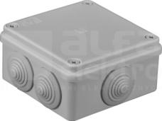 S-BOX 106 100x100x50 IP65 6 dł. Puszka natynkowa