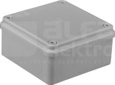 S-BOX 116 100x100x50 IP65 bez dł. Puszka natynkowa
