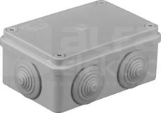 S-BOX 206 120x80x50 IP65 6 dł. Puszka natynkowa
