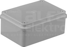 S-BOX 216 120x80x50 IP65 bez dł. Puszka natynkowa pokr.szara