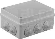 S-BOX 306 150x110x70 IP65 10 dł. Puszka natynkowa