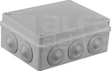 S-BOX 406 190x140x70 IP65 10 dł. Puszka natynkowa