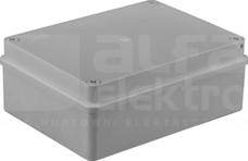 S-BOX 416 190x140x70 IP65 b/dł.szary Puszka natynkowa pokr.nieprzezroczysta