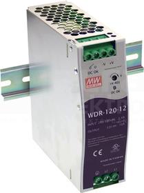 WDR-120-24 120W 24V/5,0A Zasilacz impulsowy