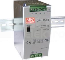 DR-120 120W 24V/5,0A Zasilacz impulsowy 1 kl.izol
