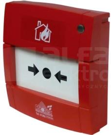6000/MCP Ręczny ostrzegacz pożarowy wew.