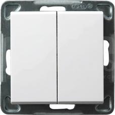 SONATA 16AX IP20 biały Łącznik świecznikowy