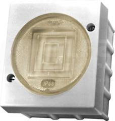LAMBDA 6A IP44 biały Łącznik jednobiegunowy