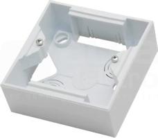 AS wys.32mm biały Puszka instalacyjna pojedyncza