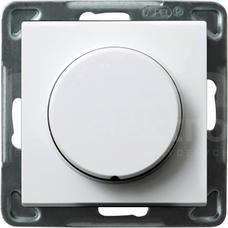 SONATA 40-400W 230V50Hz biały Ściemniacz przyciskowo-obrotowy